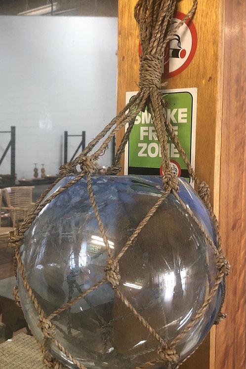 Glass Bowl in Net 25cm
