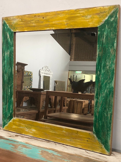 Boat Wood Style Mirror
