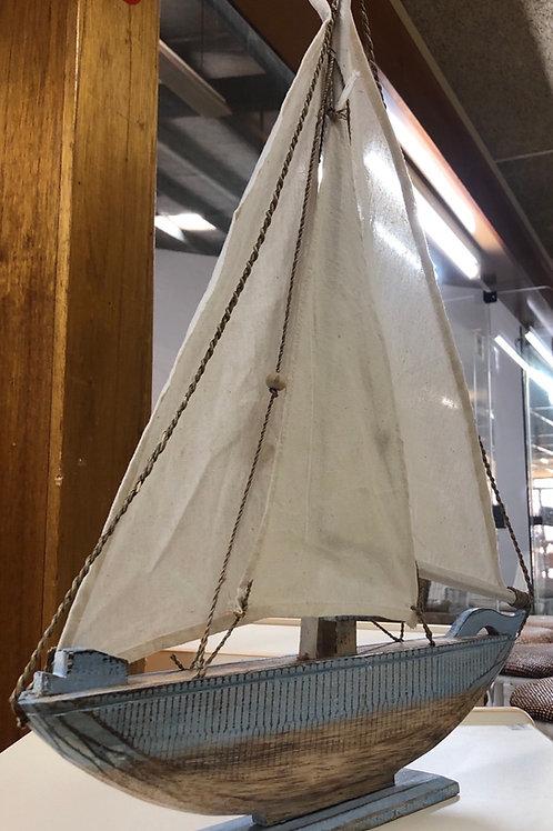 Sailing Boat Wooden (Small)