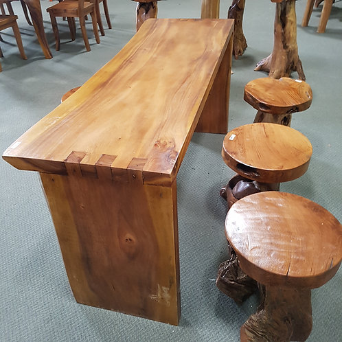 TEAK BAR / KITCHEN TABLE