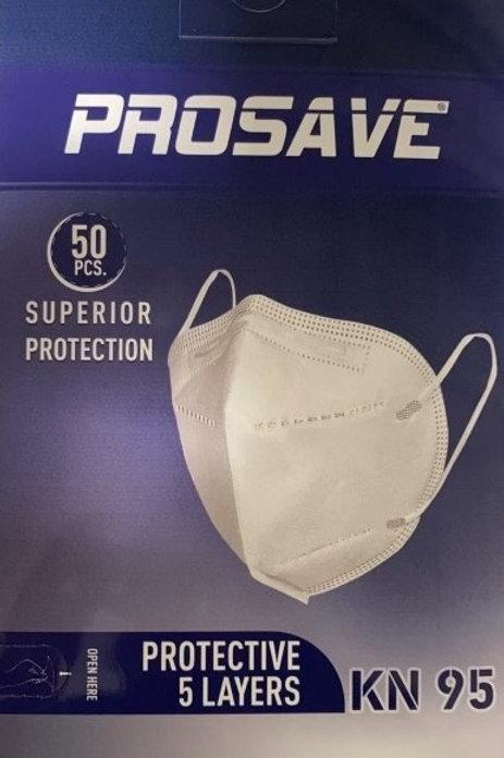 KN95 Respirator Mask 50-pack
