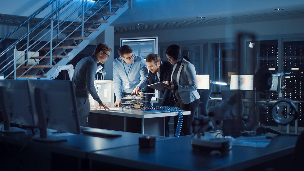 Team of Electronics Development Engineer