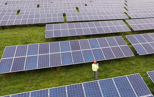 Solar Panels ground mounted