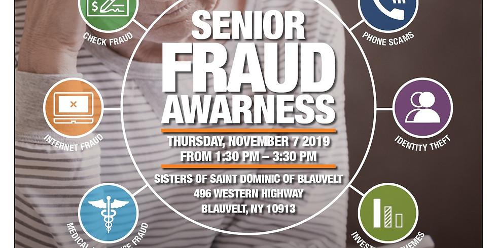 Senior Fraud Awareness Event