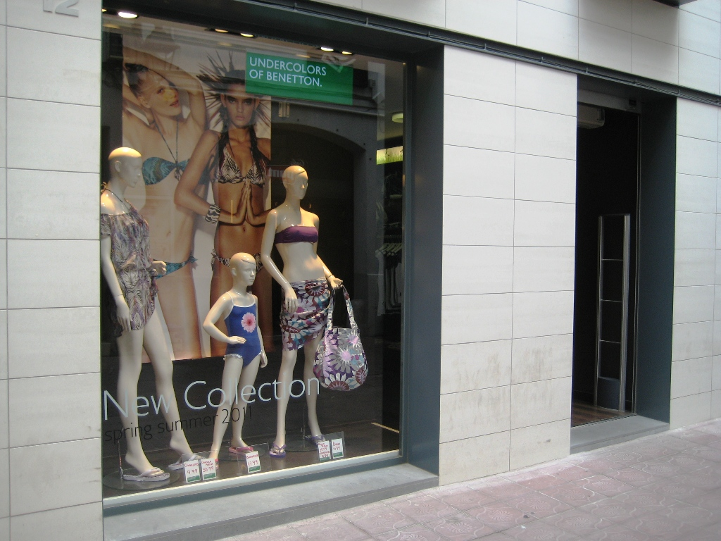 Undercolors Benetton Sabadell