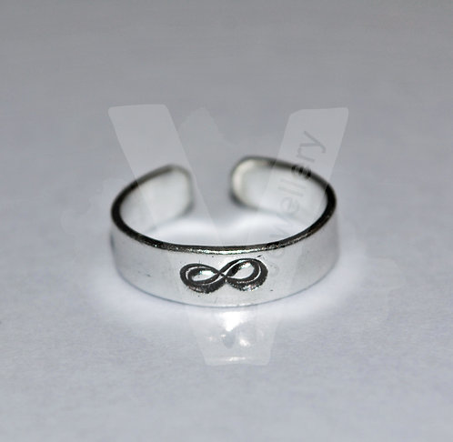Design Hand Stamped Band Ring