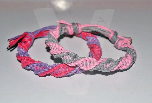 "Handmade Knot ""Double Spiral"" Bracelet"
