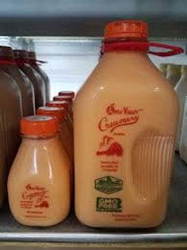 Apple Valley Creamery Chocolate Milk 1/2 Gallon -$2.00 refundable bottle deposit