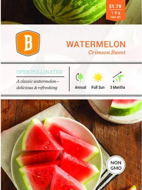 Watermelon - Crimson Sweet Seed