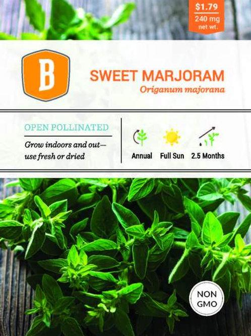 Sweet Marjoram Seed