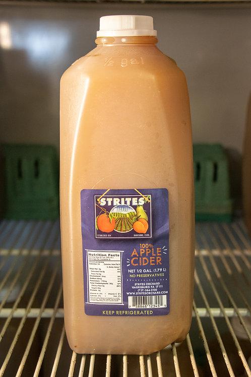 Strites' Apple Cider - 1/2 Gallon