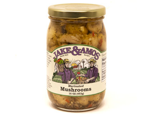 Jake & Amos Marinated Mushrooms