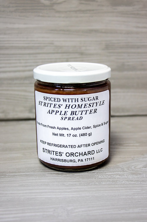 Apple Butter Spiced with Sugar
