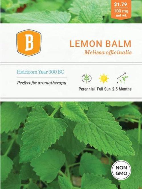 Lemon Balm Seed