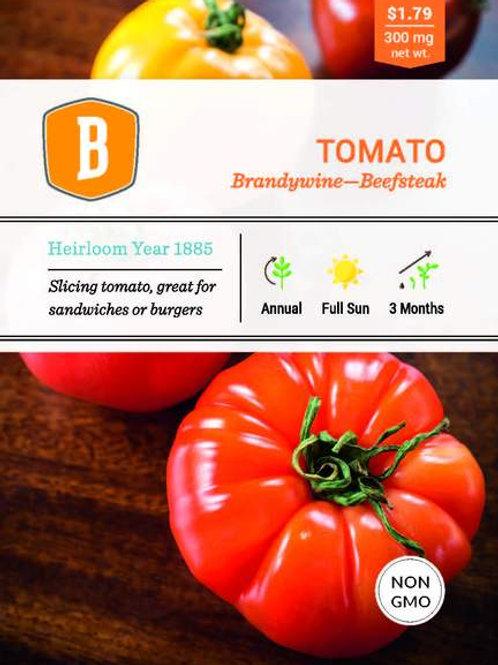 Beefsteak Brandywine Tomato Seed