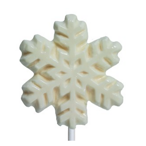 White Snowflake Lollipop