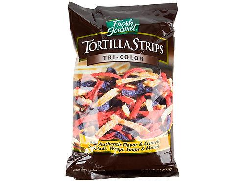 Tri Color Tortilla Strips