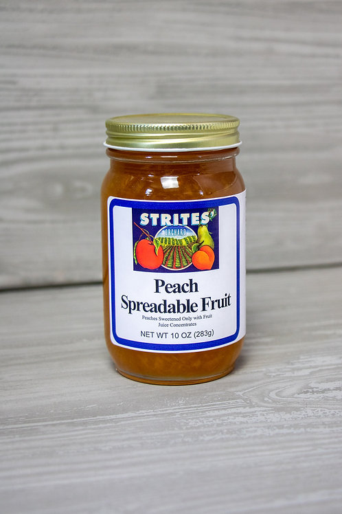 No Added Sugar Peach Spreadable Fruit