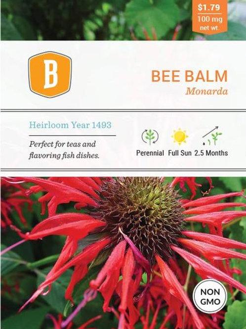 Bee Balm Seed