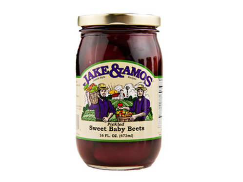 Jake & Amos Pickled Sweet Baby Beets