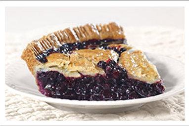 "8"" No Sugar Blueberry Pie"