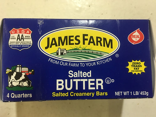 James Farm Salted Butter - 1 lb