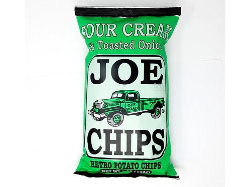 Joe's Sour Cream & Toasted Onion Potato Chips