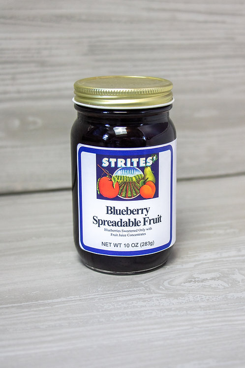 No Added Sugar Blueberry Spreadable Fruit
