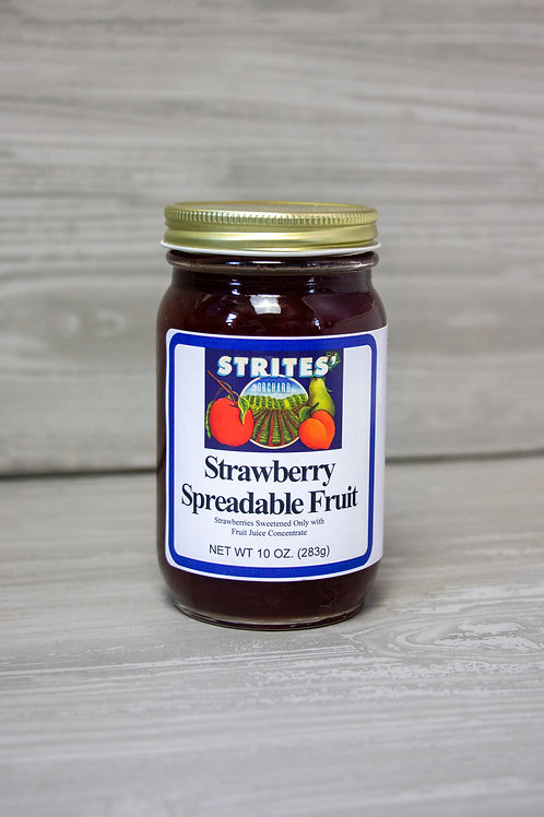No Added Sugar Strawberry Spreadable Fruit