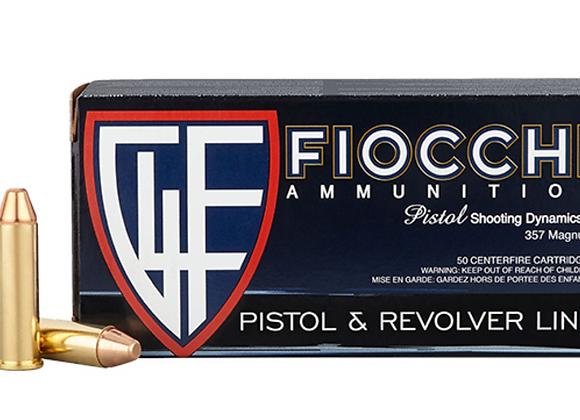 Fiocchi 357 Mag 124gr FMJ