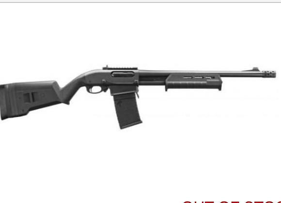 Remington 870 DM 12 GA Magpul