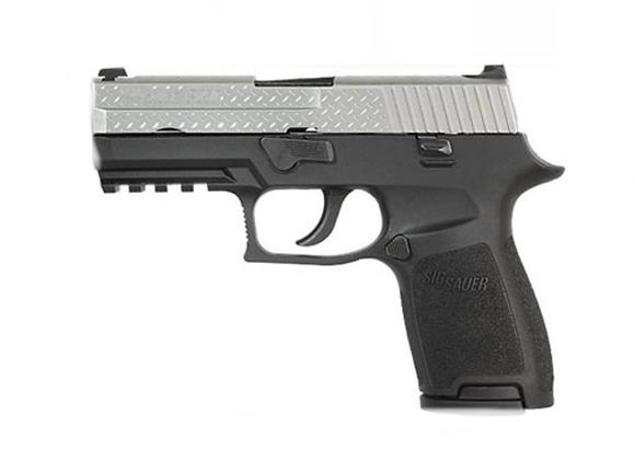 Sig Sauer P250 Diamond Plate 9mm Pistol