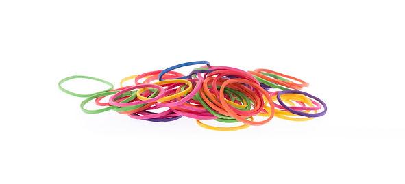 élastiques colorés