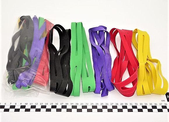 bracelet elastique croix 5 couleurs