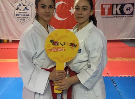 """Sporcularımız """"SEN GENÇSİN GÜÇ SENSİN"""" Projesinde Yer Aldılar!"""