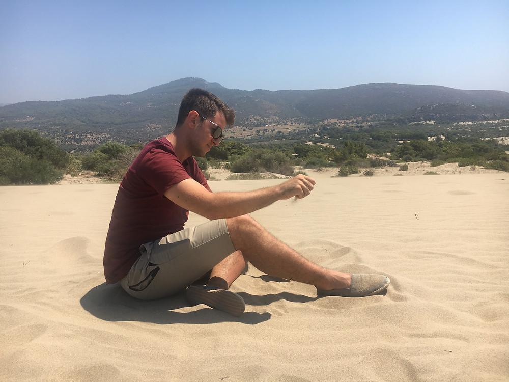Bura Kum Tepesi. Plaj fotoğrafını koyacak değildim...