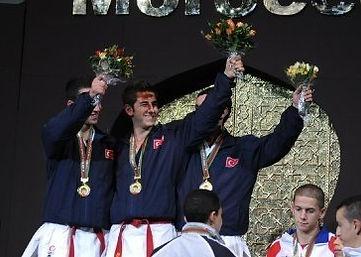 Dünya Karate Şampiyonu Mustafa Oğulcan Alımcı
