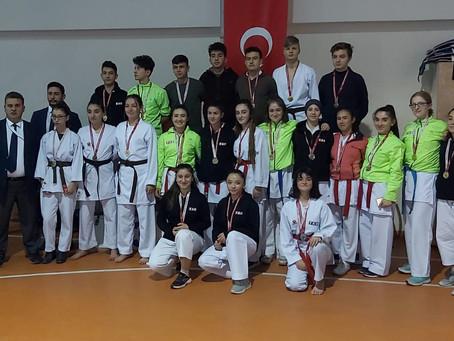 Okul Sporlarında 42 Madalya Kazandık!