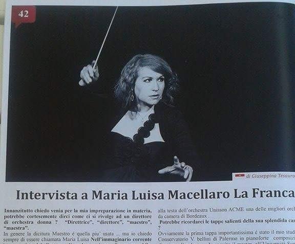 Maria Luisa Macellaro La Franca