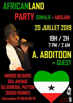 ahmed concert 20 juillet