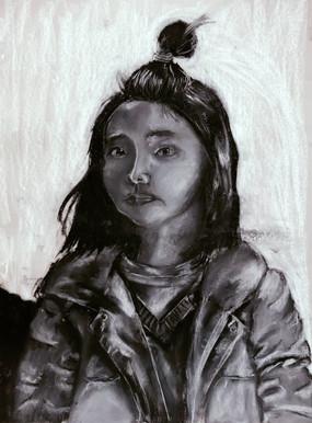 life drawing 45mins-Me