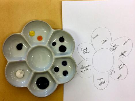 Student's palette