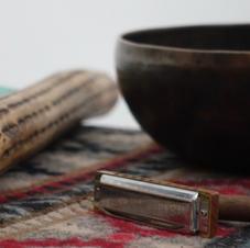 Sound Bowl, Harmonica & Rainstick