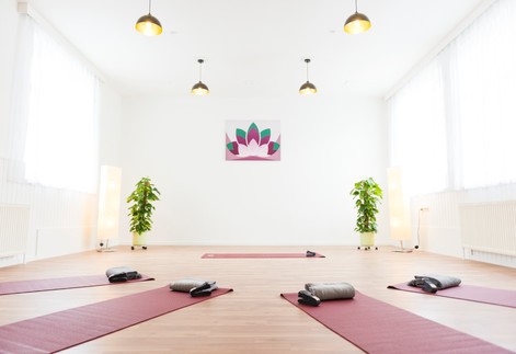 Lotus-Yoga Studio Innenansicht
