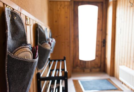 Eingangsbereich mit Hausschuhe