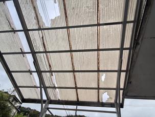カーポート屋根の貼替工事