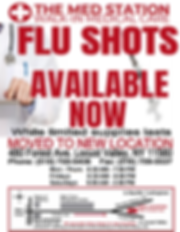THE MED STATION FLU SHOT NOW POST ONLINE