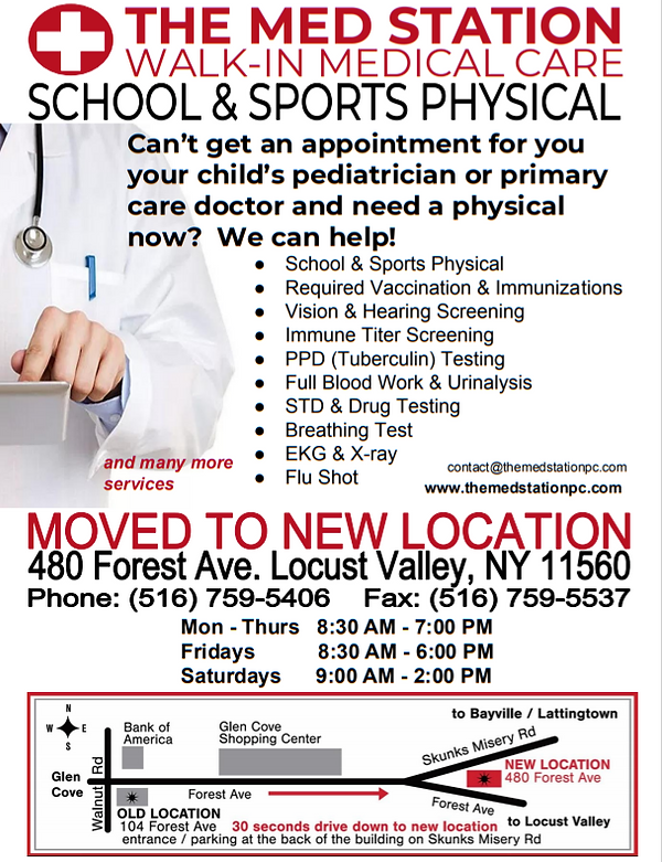 School & Sports Physicals