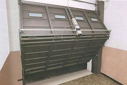 Accionadores hidráulicos para puertas basculantes de 1 o 2 hojas