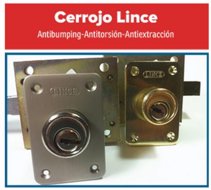 Cerrojo lince. anti bumpin, antiextracción